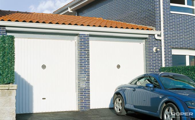 Residential Up-and-Over Garage Door