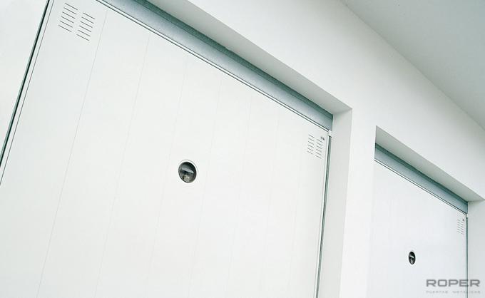 Residential Up-and-Over Garage Door 1