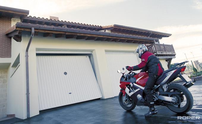 Residential Up-and-Over Garage Door 4