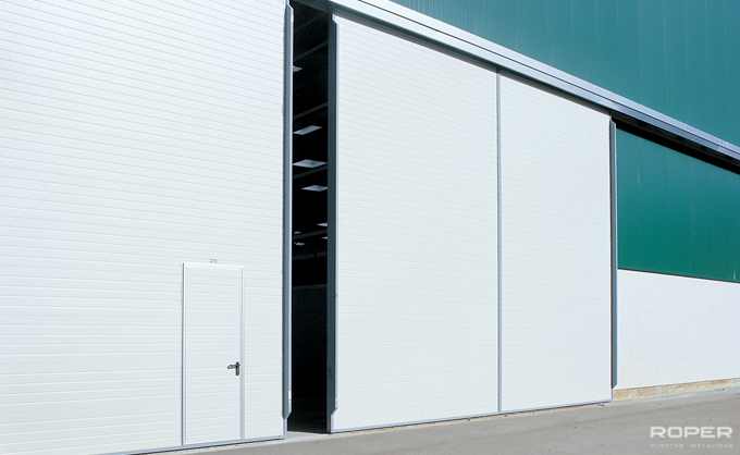 Industrial Slide Doors